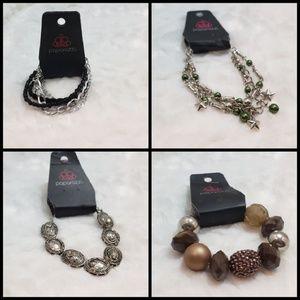 Bundle of 4 Paparazzi bracelets